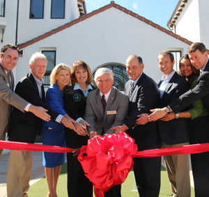 Cotton's Point Grand Opening- ribbon cut