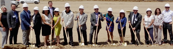 Courson Arts Colony West groundbreaking